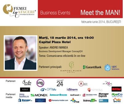 Meet the MAN! Andrei Manea