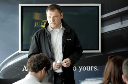Mercedes-Benz Euro VI Truck - Boris Billich CEO MBRO